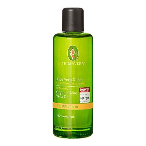PRIMAVERA Pflegeöl Aloe Vera Öl bio 100 ml - Naturkosmetik, Pflanzenöl, Hautöl - feuchtigkeitsspendend, beruhigend bei trockener, spröder Haut - vegan