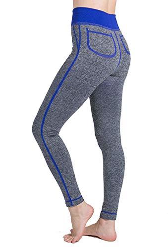 Dawwoti Hardlopen Gamaschen voor vrouwen Afslankken Tights Buik-Stuur Yoga Panty
