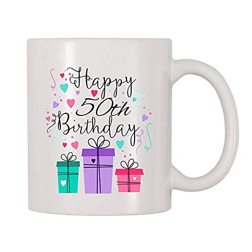 Tazza Di Buon Compleanno Con Candele Dal Design Divertente - Ceramica - 11 Oz P3