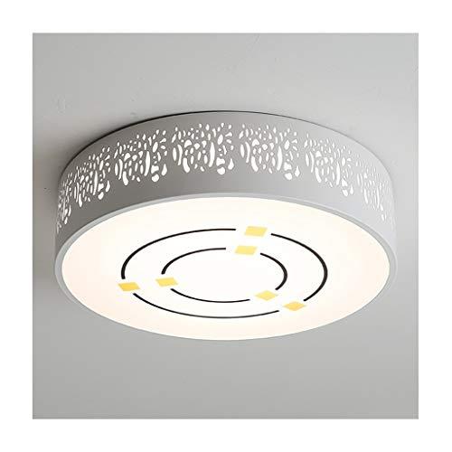 GPZ-iluminación de techo Luz moderna de techo, LED, acrílico, hierro forjado, sala de estar, decoración, dormitorio, estudio, balcón, cocina, escaleras, pasillo, lámparas de techo [Clase energética A