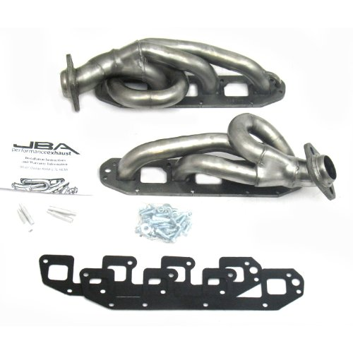 "JBA 1961S-1 1-5/8"" Shorty Stainless Steel Exhaust Header for Ram 5.7L Hemi 2500 4WD 1500"