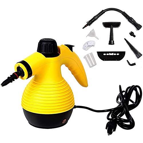LABYSJ Dampfreiniger 50W Mehrzweck-Leistungsstarker Dampf, Desinfektionsmittel, Dampfgarer, Dampfbügeleisen, Flecken/Fett Aus Bad, Küche Entfernen
