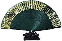 ギフト用タッセル付き中国風扇子 ハンドヘルドファンハンドヘルドシルクの折りたたみファン、結婚式のダンスの装飾パーティーパーティーギフトの装飾的なファンのための装飾的なファン と壁の装飾 (Color : E)