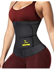 SEXYWG Taille Trainer voor Vrouwen, Sauna Dames Taille Trimmer Corset Cinchers, Workout Zweet Afslanken Riem Buik Wrap