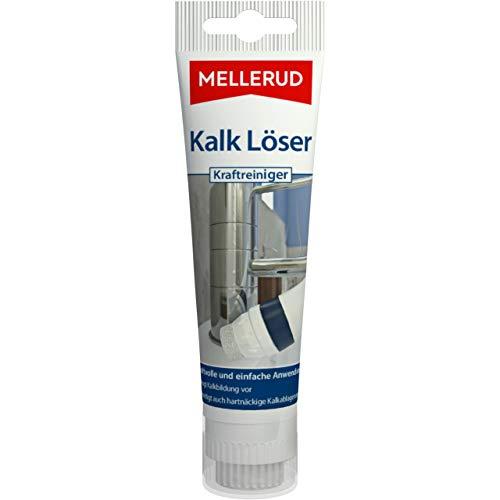 Mellerud Kalk Löser Kraftreiniger – Intensive Reinigung zum Entfernen von hartnäckigen Kalkablagerungen – 1 x 75 ml
