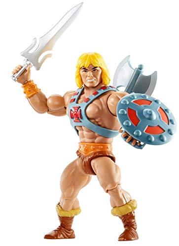 Masters of the Universe- Personaggio He-Man da 14 cm, Giocattolo da Collezione per Bambini 6+Anni, GNN85
