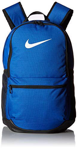 Nike Brasilia (Medium) Backpack Rucksack, Game royal/Black/White, MISC