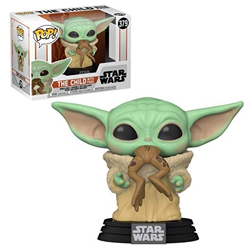 The Child With Frog - Baby Yoda 379 Pop Funko Star Wars
