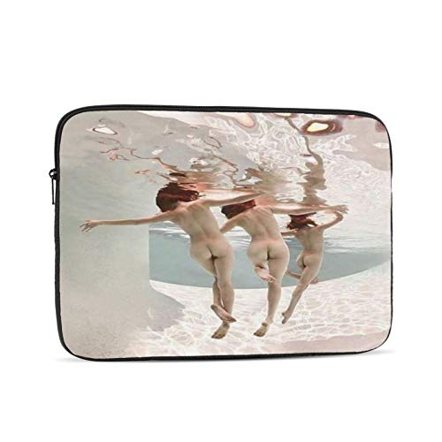 Sexy Women Girls Butt Under Sea Nude Art 10-17 Inch Classic Computer Bag Laptop Case Carrying Bag Chromebook Case Notebook Bag Tablet Cover,12 inch