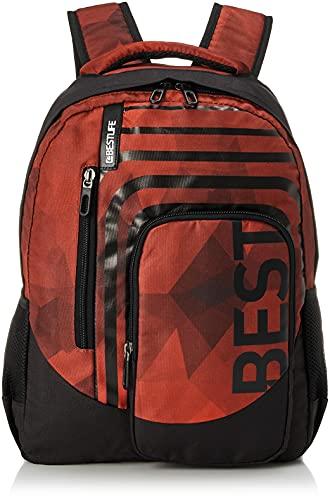 """Bestlife Mochila unisex """"BREVIS"""" mochila escolar, para el tiempo libre con compartimento para el portátil hasta 15,6 pulgadas (39,6 cm), borgoña"""