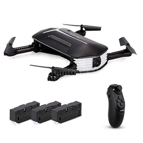 Elevin(TM) JJR/C H37 BABY ELFIE RC Quadcopter Headless Mode 4CH Drone Selfie Toys 3 Battery