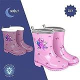 Zoom IMG-1 perletti stivaletti pioggia unicorno bambina