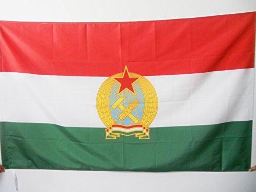 AZ FLAG Bandera de la REPÚBLICA Popular DE HUNGRÍA 1949-1956 150x90cm para Palo - Bandera HÚNGARA Antigua 90 x 150 cm