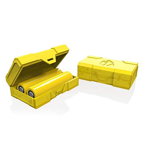 Chubby Gorilla - caja amarilla de doble batería (paquete de 2)