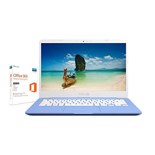 ASUS E406MA-BV211TS 14 Pulgadas HD Cloudbook con Microsoft Office 365 (Intel Celeron N4000, 64 GB de Almacenamiento eMMC, 4 GB de Memoria, Windows 10 S)