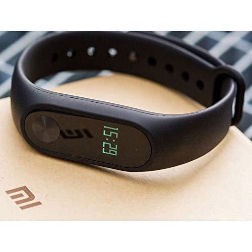 Xiaomi Mi Band 2 Fitnessarmband (Schlaftracker, Aktivitätstracker, Pulsmesser) Schwarz