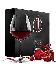 Stora Vinglas för rödvin i Lyxig Presentförpackning