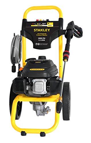 powertec pressure washers STANLEY SXPW2823 2800 PSI @ 2.3 GPM Gas Pressure Washer Powered by STANLEY (50-State)