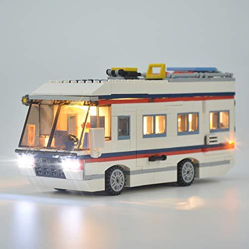 Licht-Set Für (Creator Expert Urlaubsreisen) Modell - LED Licht-Set Kompatibel Mit Lego 31052(Modell Nicht Enthalten)