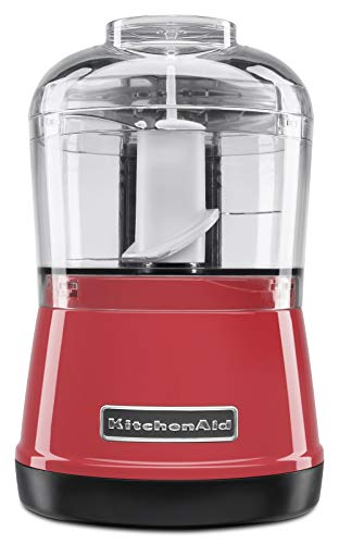 KitchenAid KJA03AV Mini Processador de Alimentos, Empire Red