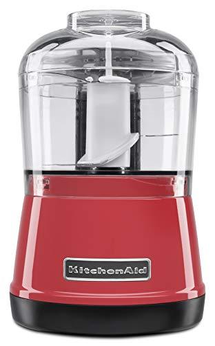 KitchenAid KJA03AV Mini Processador de Alimentos, Empire Red