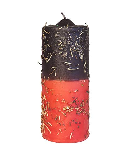Velón herboreo 16CM - El velón herboreo se Utiliza para Abre Caminos, protección, Defensa, inicios de rituales.
