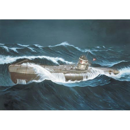 Revell 05015 1/72 U-Boat Type VIIC