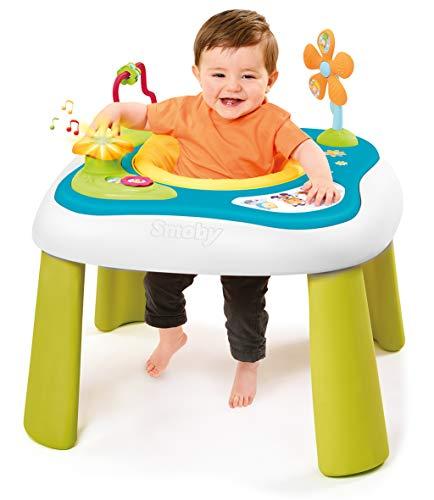 Smoby - Cotoons Youpi Baby - Table dEveil - Siège Déhoussabl