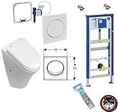 Badset Papierhalter Handtuchhalter WC-Bürstengaritur Metall verchromt 3er Set