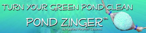 Pond support Zinger – Mini Log Mesure, Bleu, 17 x 9 x 7.0 cm