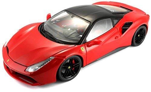 Bburago Maisto France 16905R Ferrari 488 GTB Signature Séries - Rouge Echelle 1/18