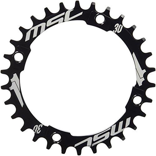 エムエスシーバイクス(Msc Bikes) 1 x SYSTEM ナローワイドチェーンリング 30T ブラック CRXX110430 ブラック