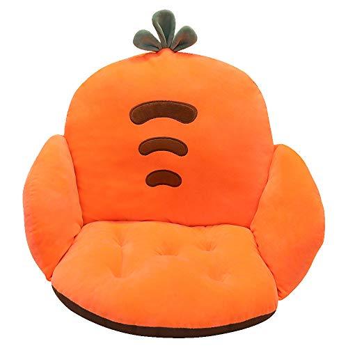 Sitzkissen Stuhl Rückenkissen Unterstützung Waschbar Kissen mit Rückenlehne für Stühle/ Bürostuhl/ Essensstuhl/ Sofa/ Spiel Stuhl