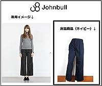Johnbullジョンブル ストライプ柄 タック入 ワイド パンツ バギー フ S