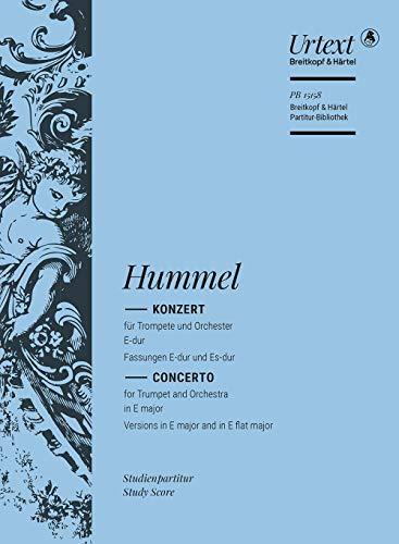 Hummel, J: Konzert für Trompete und Orchester E-Dur/Es-Dur