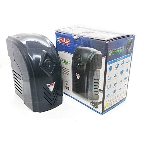 Protetor Eletrônico 500VA 350 watts Bivolt Entrada 110v/220v Saída 110v Manager Emplac F60002