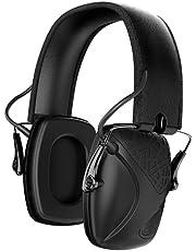 AWESAFE GF01 Casco Tiro Auriculares de Caza Plegables Defensores del Oído con Tecnología de Cancelación de Ruido Protectores Auditivos Especialmente Diseñados para Cazadores y Tiradores
