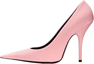 Themost Women's Pointy Toe Pump Satin Stiletto High Heels Party Wedding Pumps Shoes