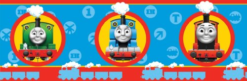 Fun4Walls Frise Thomas and Friends 17 cm