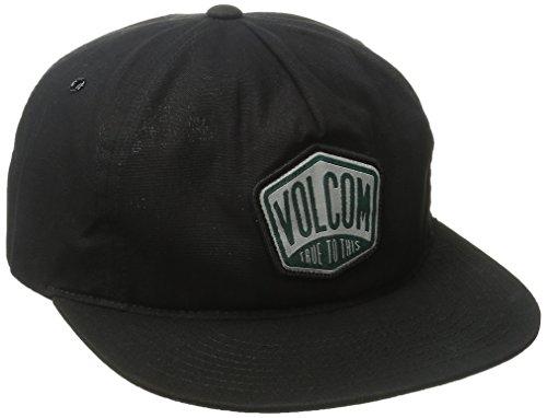 Volcom Station Snapback casquette de Baseball Homme, Noir (Black), Unique (Taille Fabricant: One Size)