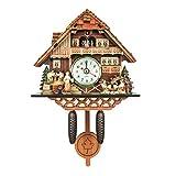 Antico Orologio da Parete A cucù Vintage Wall Clock Home Decor Regalo Eccellente Regalo di Legno - K