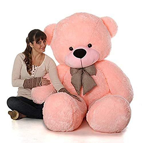HUG 'n' FEEL SOFT TOYS Teddy bear 4 feet, Soft toy, Teddy bear 4 feet for girls, Teddy bear 4 feet for girls, Soft toys for kids,...