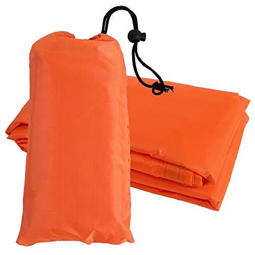 Antilog regenjas, multifunctionele regenjas, robuuste waterdichte poncho-overkapping, luifelafdekmat voor buiten