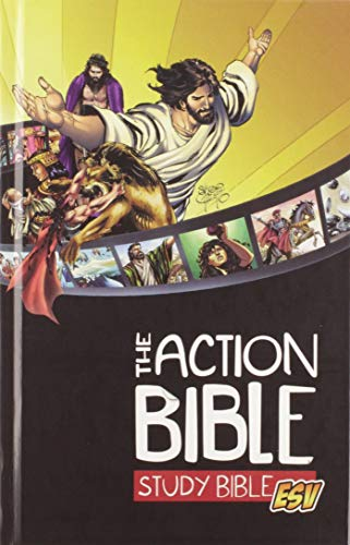 Action Bible Study Bible, The, ESV (Hardcover)