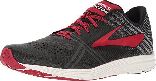 Brooks Hyperion Shoe - Men's Running Black/White/Toreador