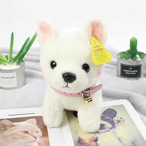 N / A Perro de simulación Shar Pei Juguete de Felpa Animal de Peluche muñeca Perro Mascota bebé niño niña Regalo de cumpleaños decoración del hogar 23cm
