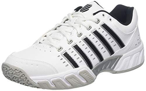 K-Swiss Performance Herren Ks Tfw Bigshot Light Ltr Omni Tennisschuhe, Weiß (White/Black/Silver 30), 43 EU
