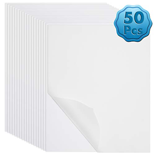 Vellum Paper, Cridoz 50 Sheets Vellum Transparent Paper 8.5 x 11 Inches Translucent Clear Paper for Printing Sketching Tracing Drawing Animation
