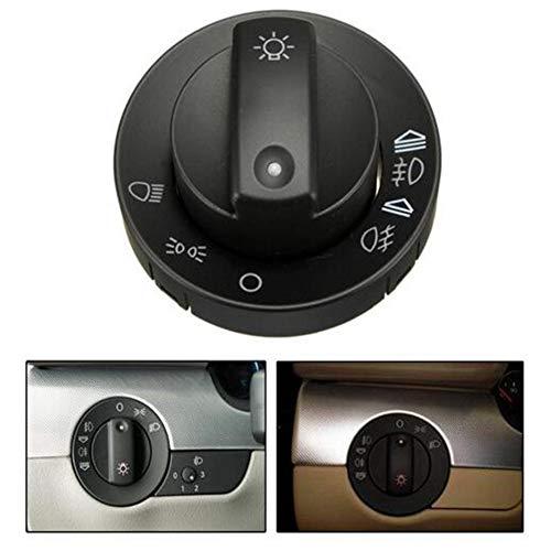 GOZAR Phare Antibrouillard Interrupteur Kit De Réparation Couvercle Compatible avec Audi A4 S4 8E B6 B7 2000-2007