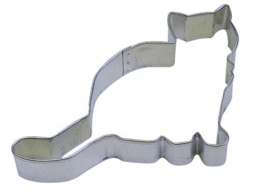 R&M Kitten 4.5' Cookie Cutter in Durable, Economical, Tinplated Steel